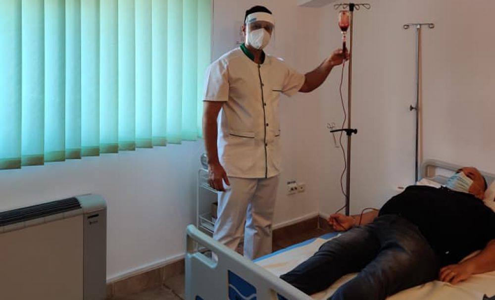 Veşti bune vin de la Spitalul de Boli Infecţioase Victor Babeş!   Pacienţii cu Covid 19 vor fi trataţi la Craiova, de sâmbătă, prin ozonoterapie