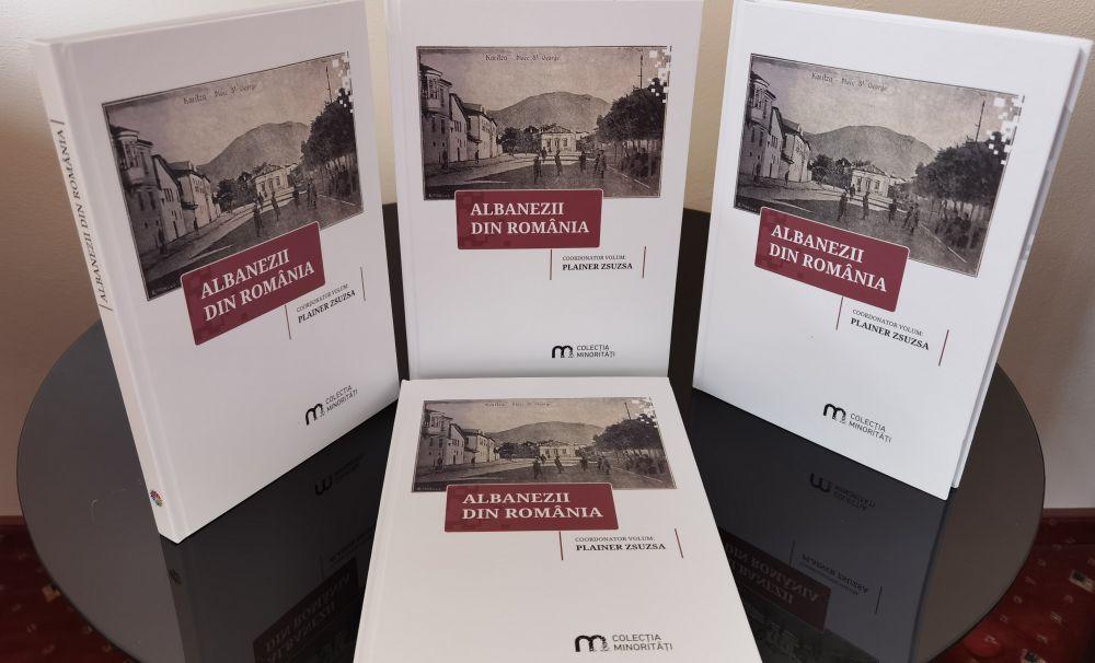 Volum dedicat albanezilor din România, publicat la ISPMN Cluj-Napoca