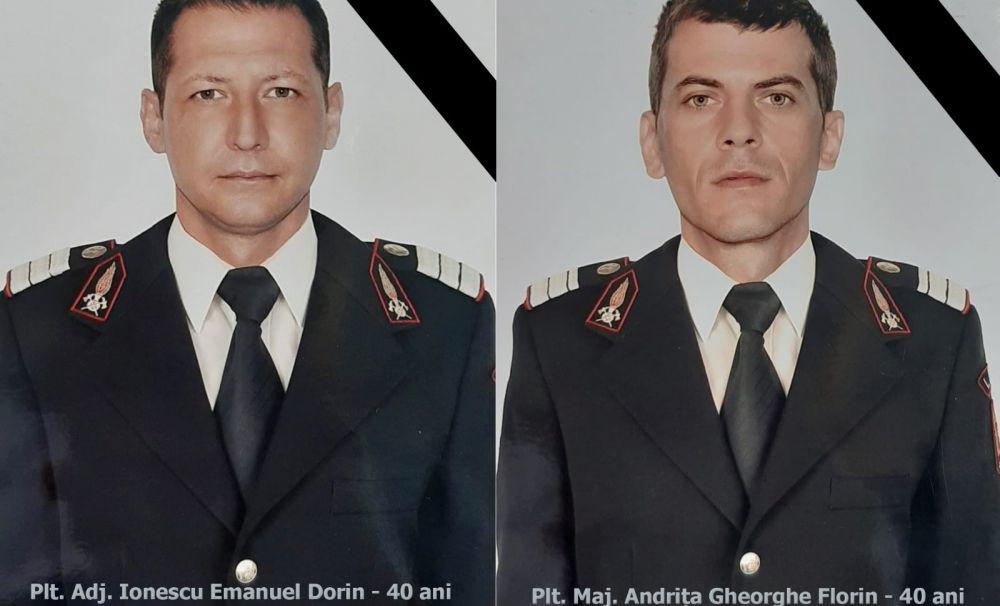 ZI NEAGRĂ pentru pompierii mehedințeni! Doi colegi au murit într-un accident rutier